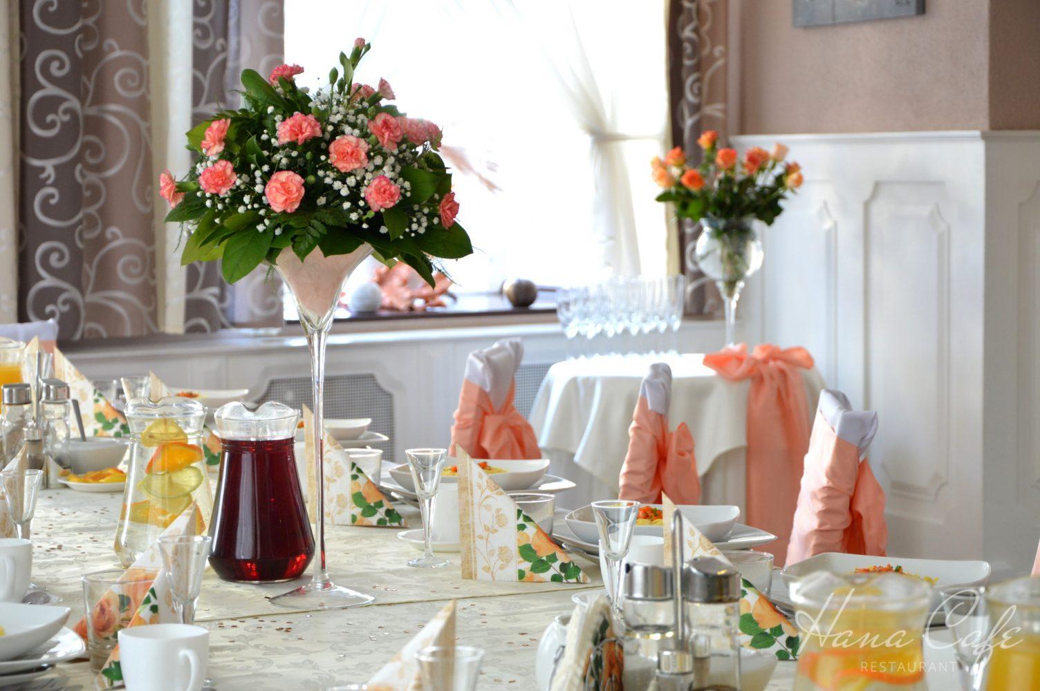Przyjęcia Prudnik - Imprezy okolicznościowe - Hana Cafe Restaurant
